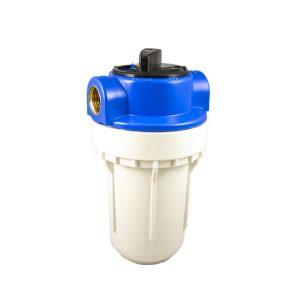 Filtre à eau bypass 2 pièces 5 pouces avec insert laiton filetage 3/4 pouce - 20x27