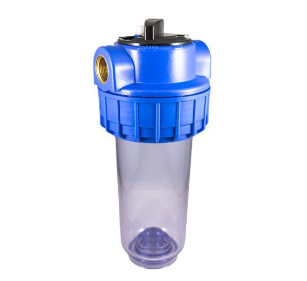 Filtre à eau bypass 7 pouces avec insert laiton filetage 3/4 pouce - 20x27