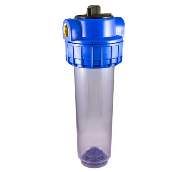 Porte filtre à eau bypass 9 pouces 3/4