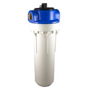 Filtre à eau bypass 2 pièces 9 pouces 3/4 pouces avec insert laiton - filetage 3/4 pouce – 20×27