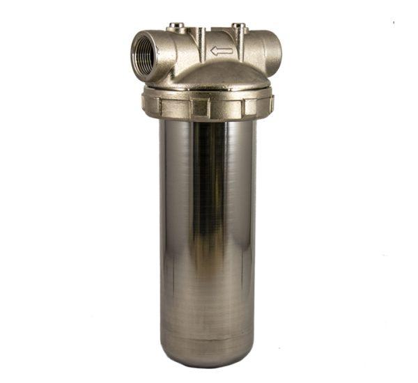porte filtre laiton cuve inox 9 pouces 3/4 - 1 pouce