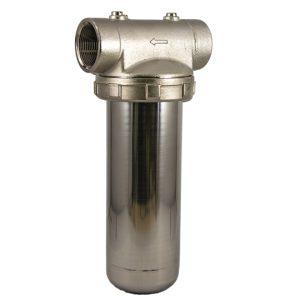 porte filtre laiton cuve inox 9 pouce 3/4 - 1 pouce 1/2
