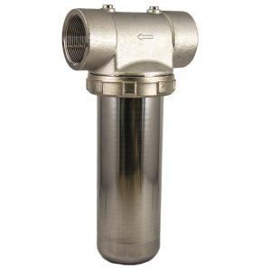 porte filtre laiton cuve inox 9 pouces 3/4 - 2 pouces