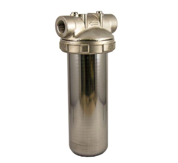 porte filtre laiton cuve inox 9 pouces 3/4 - 3/4 pouce
