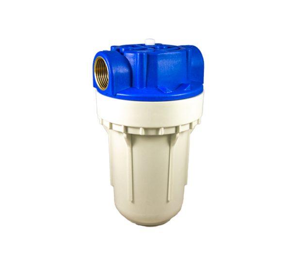 Porte filtre à eau 2 pièces– TÉTHYS 5 – insert laiton filetage 1 pouce - 26x34